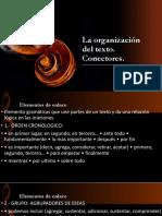 La Organización Del Texto