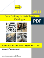 KCDE Coring in Hole Tools Catalogue