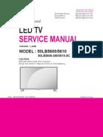 LG+50LB5600-SB+50LB5610-SC+Chassis+LJ43B