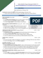francesca williams chronological resume
