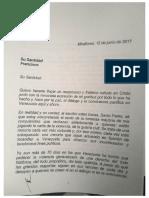 Carta de Nicolás Al Papa