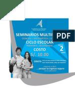 Diseño Academia La Práctica - Ciclos y Servicios