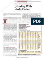 Daytrading With Market Value by Donald L. Jones