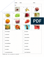 Fr Fruits Matching