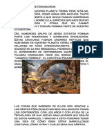 Un Paseo Entre Dinosaurios