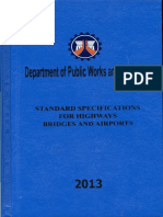 DPWH Standard Specificaitons for Highways and Airports 2013