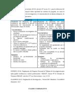 Cuadro -Comparativo -De Acuerdo a La Ley Universitaria 30220