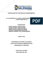 Investigación de Contabilidad Gubernamental
