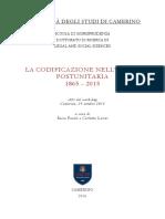 La codificazione nella italia .....pdf