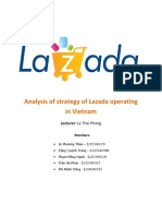 Lazada Vietnam Strategic Report