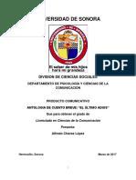 Anexo Metodologico de El Ultimo Adios-1 Revisado (1)