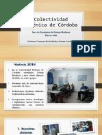 Colectividad Helénica de Córdoba - Área de Griego Moderno - Balance 2016