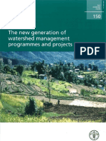 FAO New Generation of Watershed Management Programs and Projects_2006