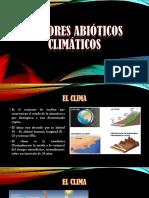 FACTORES-ABIOTICOS-CLIMATICOS