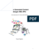 Auto Generated Content Dengan XML-RPC