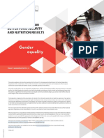 FAO Gender Policy Guideline New