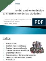 Deterioro Ambiental_María Ramos