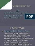 Kuliah IV Hakikat Manusia Menurut Islam Ok