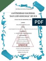 Calculo de Secciones Del Rio Ica