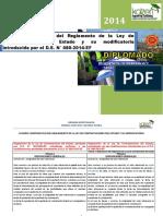 Cuadro Comparativo Del Reglamento de La Ley de Contrataciones