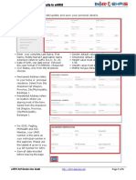 EHRIS Updating Personal Details in EHRIS Draft