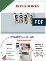 Vaporizadores en Anestesia