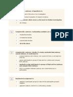 Reserach Methodology I
