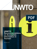 Penting Nya TIC Dr UNWTO