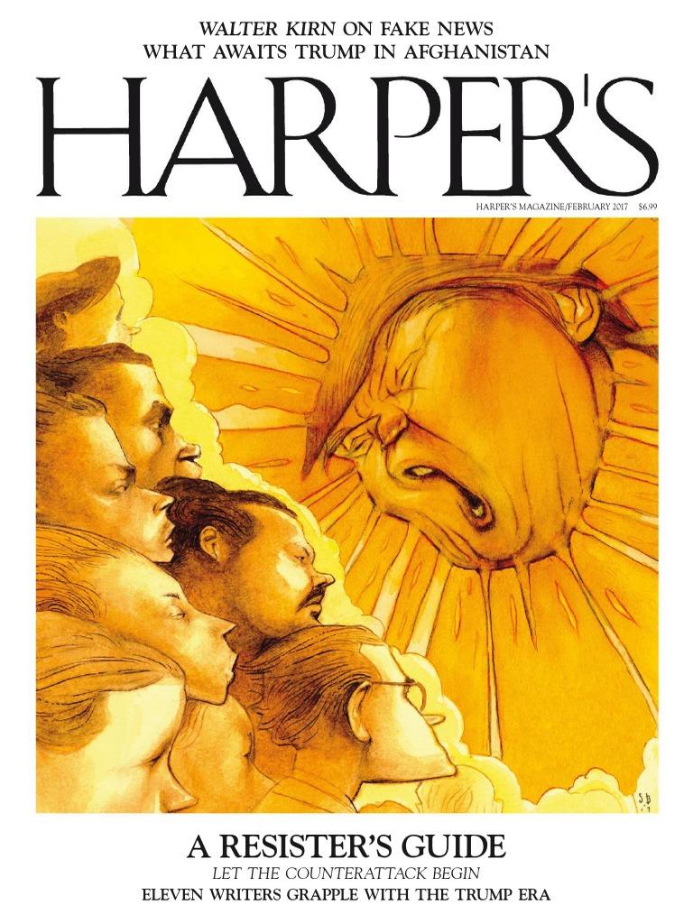 Harpers Magazine February 2017 Vk Com Stopthepress | Sicily