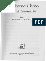 Bobbio, Norberto - El Existencialismo Ensayo de Interpretacion