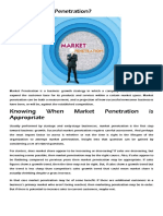What is Market Penetration.docx