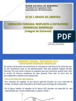 Vibracion Excitaciones Dinamicas Generales Duhamel 1