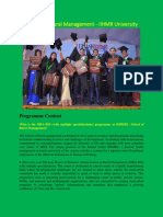 FAQ -MBA in Rural Management - IIHMR University