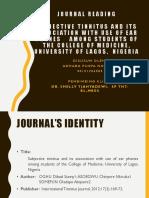 Journal Read