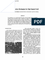 Corrosion Protection Strategies for High Speed Craft