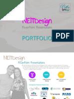 NeitDesign Portfolio, PowerPoint Presentations