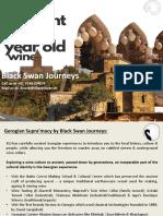 Georgian 'Supra'Macy Presented by Black Swan Journeys