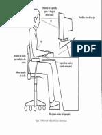 Postura de Trabajo Ideal Para Estar Sentado