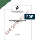 EVID 81-CABLEADO ESTRUCTURADO