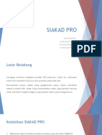Siakad Pro (Presentasi)