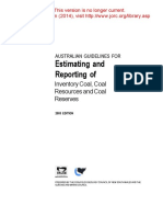 Coal Guidelines 2003