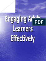 Engaging Adult Learners Effectively Final