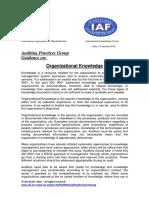 APG OrganizationalKnowledge2015