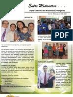 Boletin 168 Informe Misionero Del Salvador - Junio de 2010