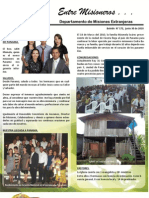 Boletin 172 Informe Misionero de Panama - Junio de 2010