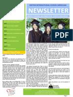 32 Newsletter 9th June 2017