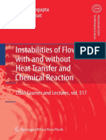 TK Sengupta, Poinsot, Instabilities of Flows With and Without Heat Transfer and Chemical Rxn