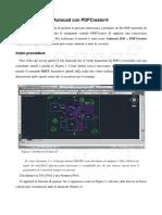 Creare Un PDF Da Autocad Con Pdfcreator