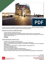 Briefing de plénière -  décembre 2015