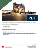 Briefing de plénière -  janvier 2016